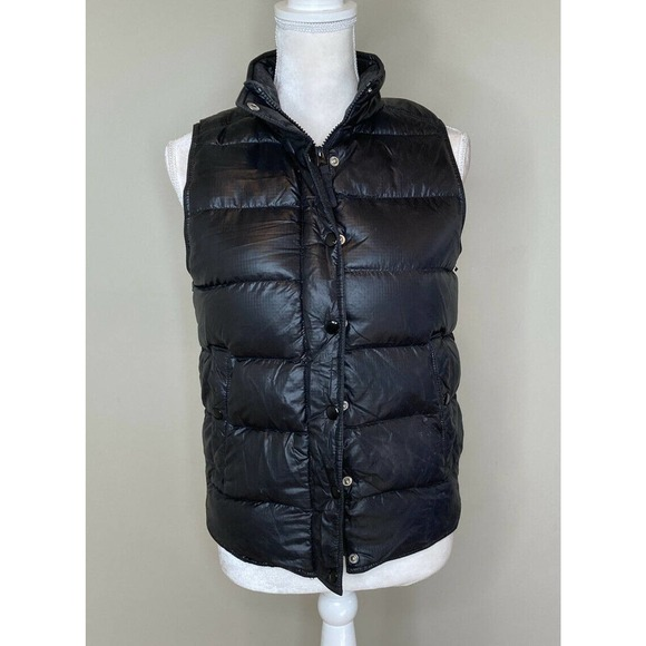J. CREW Women's Full Zip Snap Down Puffer Vest XS